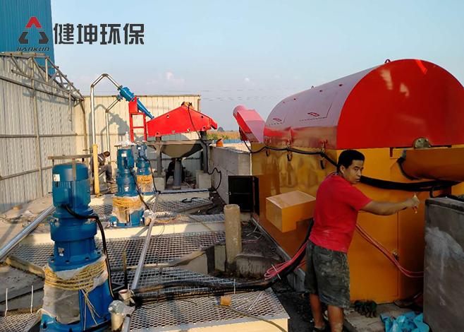 河南乐健 - 沙石分离机厂家